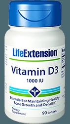 Vitamin D3 for Bone Density-and Immune Function Support