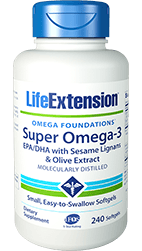 SUPER OMEGA-3 EPA/DHA WITH SESAME LIGNANS & OLIVE EXTRACT